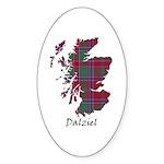 Map - Dalziel Sticker (Oval 50 pk)