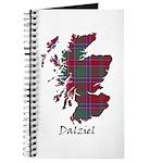 Map - Dalziel Journal