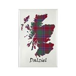 Map - Dalziel Rectangle Magnet (100 pack)