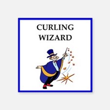 Curling joke Sticker