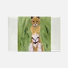 Serval Cat Magnets