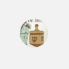 Dr. Dreidel Mini Button