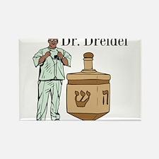 Dr. Dreidel Rectangle Magnet