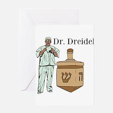 Dr. Dreidel Greeting Card
