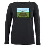 Mind of Christ (Minecraft) Plus Size Long Sleeve T
