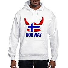 """Norwegian Viking """"Norway"""" Jumper Hoodie"""