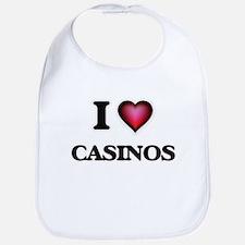 I love Casinos Bib