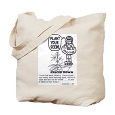 PLANT YOUR SEEDS Tote Bag