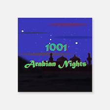 """Arabian Nights Square Sticker 3"""" x 3"""""""