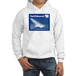 Faithbook (bible Facebook Spoof) Hooded Sweatshirt