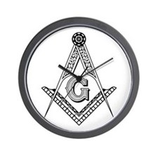 Masonic Symbol Wall Clock