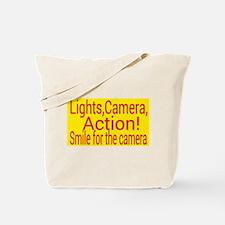Lights, Camera, Action! Tote Bag