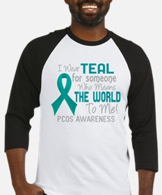 - PCOS Means World To Me 2D Baseball Jersey