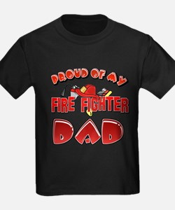 Proud of my Firefighter dad T