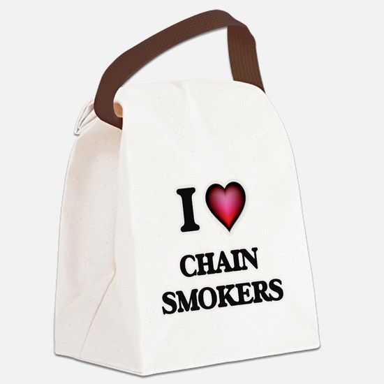 I love Chain Smokers Canvas Lunch Bag