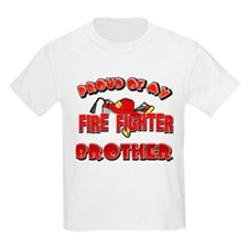 Proud of my Firefighter brother T-Shirt