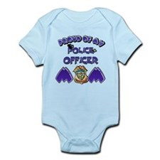 Proud of my Police Officer Mom Infant Bodysuit