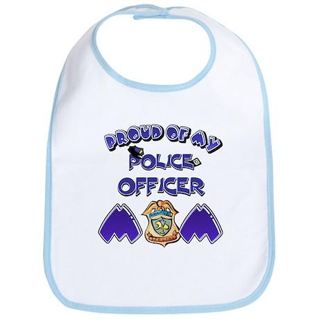 Proud of my Police Officer Mom Bib