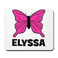 Elyssa - Butterfly Mousepad
