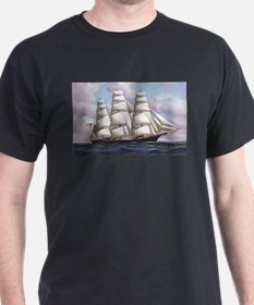 The American clipper ship Flying Cloud T-Shirt