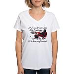 Ride Him Like My Sled Women's V-Neck T-Shirt