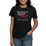 Ride Him Like My Sled Women's Dark T-Shirt