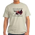 Ride Him Like My Sled Light T-Shirt