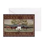 Courage, Grace Greeting Cards (Pk of 10)