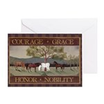 Courage, Grace Greeting Card