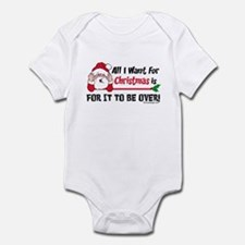 All I Want For Christmas Infant Bodysuit