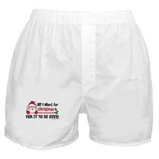 All I Want For Christmas Boxer Shorts
