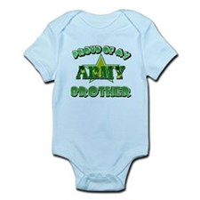 Proud of my Army Brother Infant Bodysuit