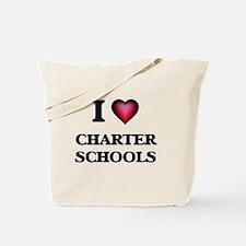 I love Charter Schools Tote Bag