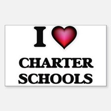 I love Charter Schools Decal