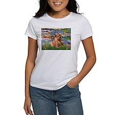 Lilies /Norfolk Terrier Tee