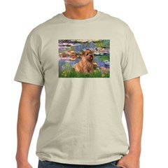 Lilies /Norfolk Terrier Light T-Shirt