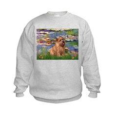 Lilies /Norfolk Terrier Sweatshirt