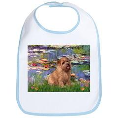 Lilies /Norfolk Terrier Bib
