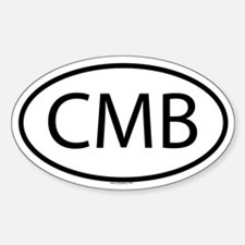 CMB Oval Decal