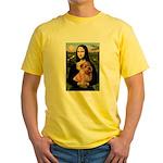 Mona / Norfolk Terrier Yellow T-Shirt