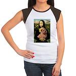 Mona / Norfolk Terrier Women's Cap Sleeve T-Shirt