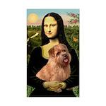 Mona / Norfolk Terrier Sticker (Rectangle)