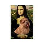 Mona / Norfolk Terrier Rectangle Magnet (10 pack)