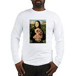 Mona / Norfolk Terrier Long Sleeve T-Shirt