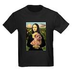 Mona / Norfolk Terrier Kids Dark T-Shirt