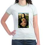 Mona / Norfolk Terrier Jr. Ringer T-Shirt