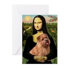 Mona / Norfolk Terrier Greeting Cards (Pk of 20)