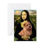 Mona / Norfolk Terrier Greeting Card