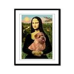 Mona / Norfolk Terrier Framed Panel Print