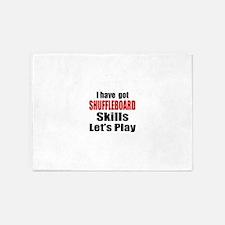 I Have Got Shuffleboard Skills Let' 5'x7'Area Rug